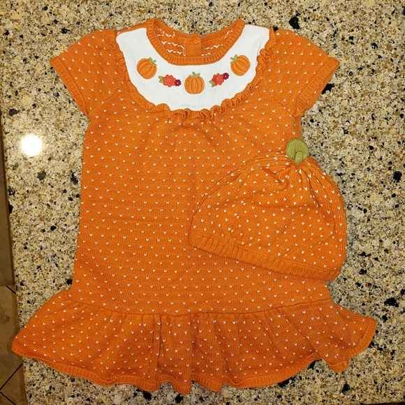 Gymboree Other - Gymboree toddler girl Fall knit dress w/hat, 3T